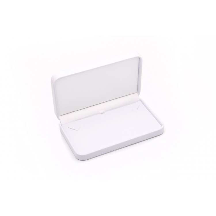 Necklace Box  (White/White,  PU/S/PU)