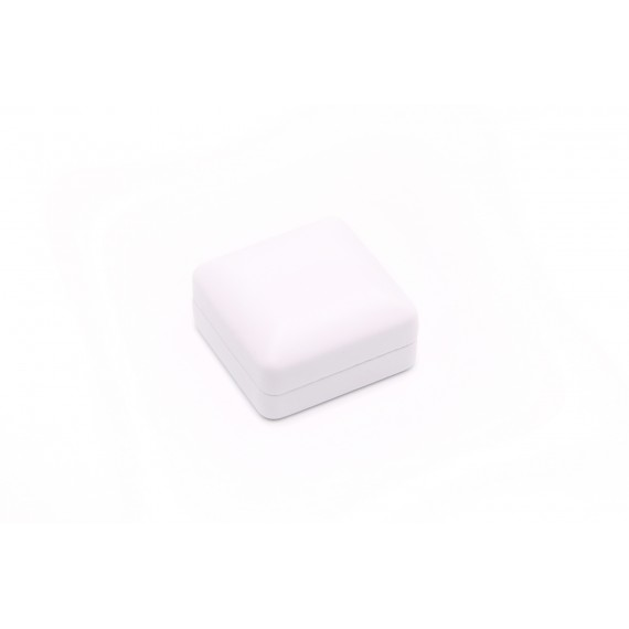 Earring Box  (White/White,  PU/S/PU)